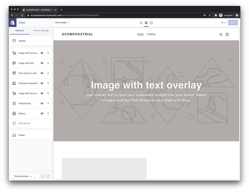 how to customize your shopify theme