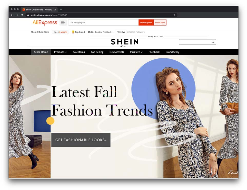 how to dropship from shein through aliexpress