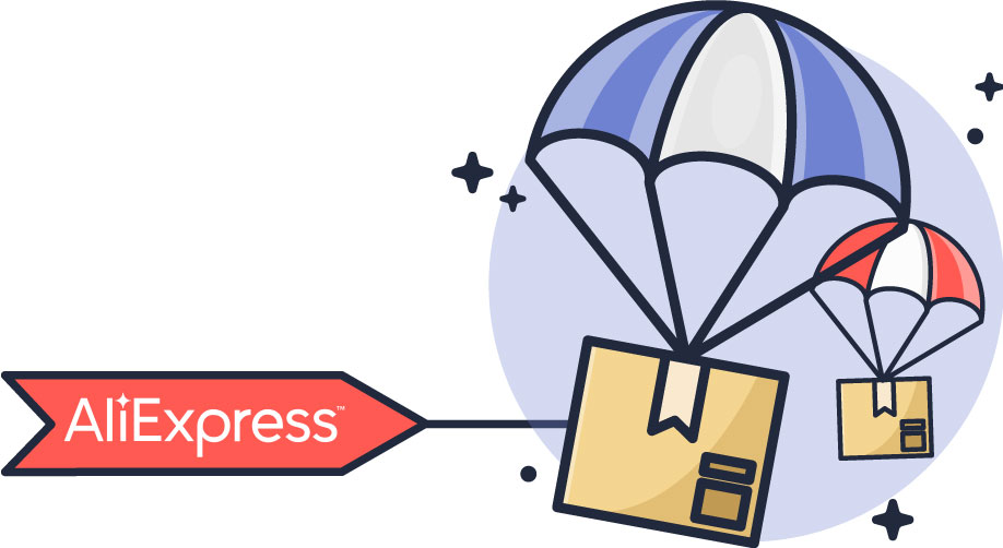 Suppliers from AliExpress are very easy to dropship from