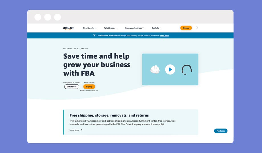 The amazon marketplace is a great place to sell your products online, you can also use their fulfillment centers  (Amazon FBA) to fulfill orders for you.