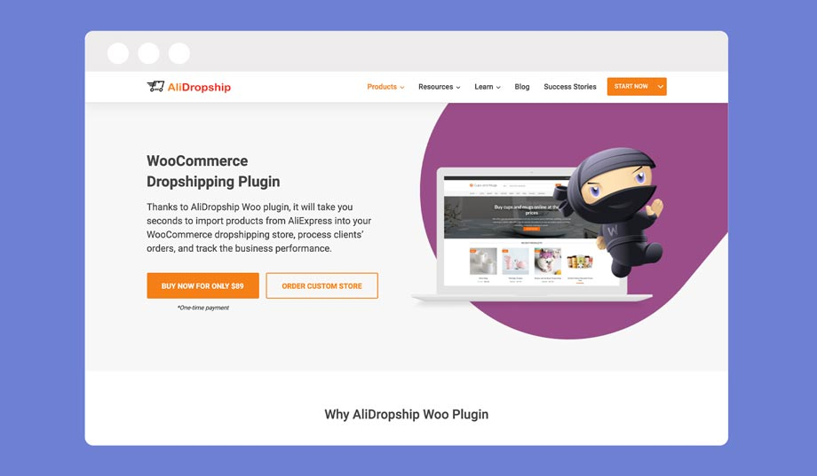 AliDropship is the best alternative to Oberlo for WooCommerce