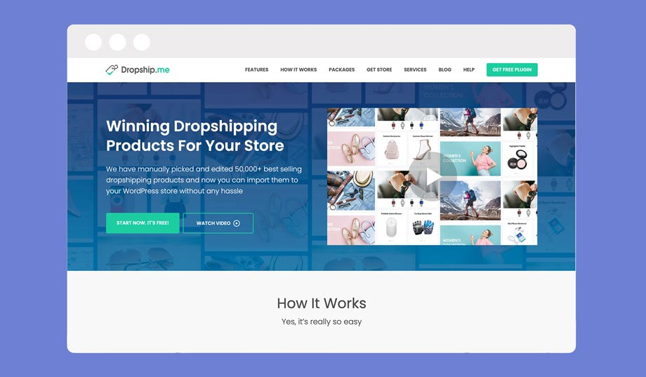 dropship.me is an oberlo alternative for WooCommerce that only imports products from ALiExpress