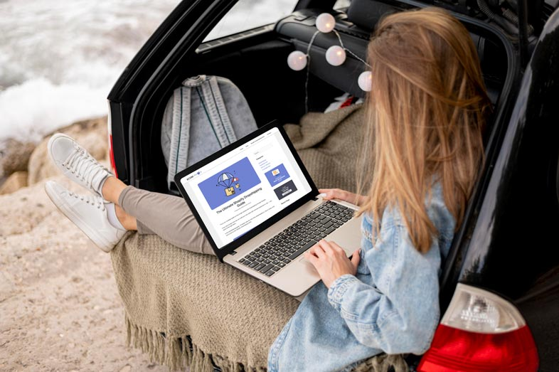 Dropshipping is a business model that allows you to work from anywhere in the world