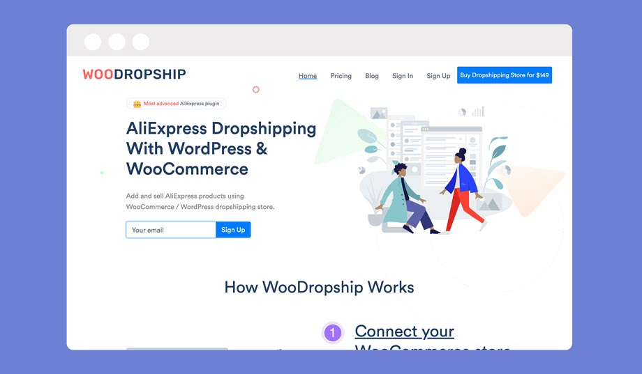 Woodropship is another Oberlo alternative for WooCoomerce