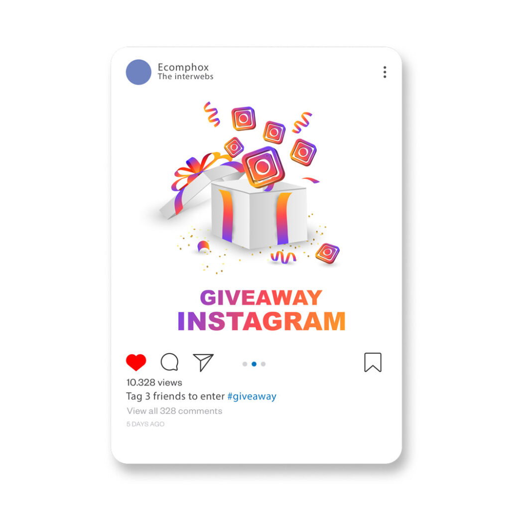 You should hold instagram giveways to promote your dropshipping store
