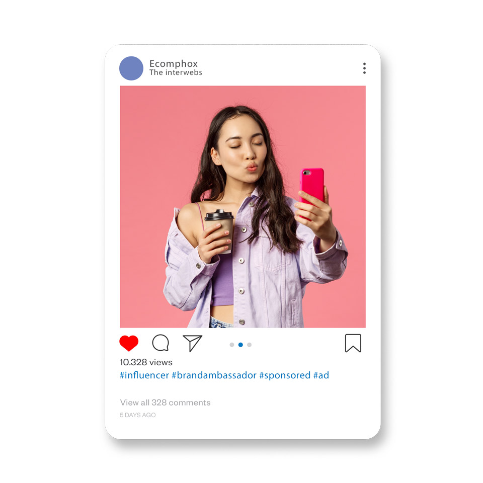You should use Instagram influencers to establish trust, brand visibility, growth and sales for your dropshipping store
