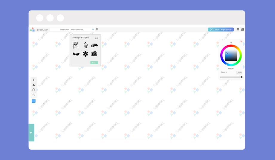 logomakr.com is a free logo creation tool that can be used by Shopify dropshippers